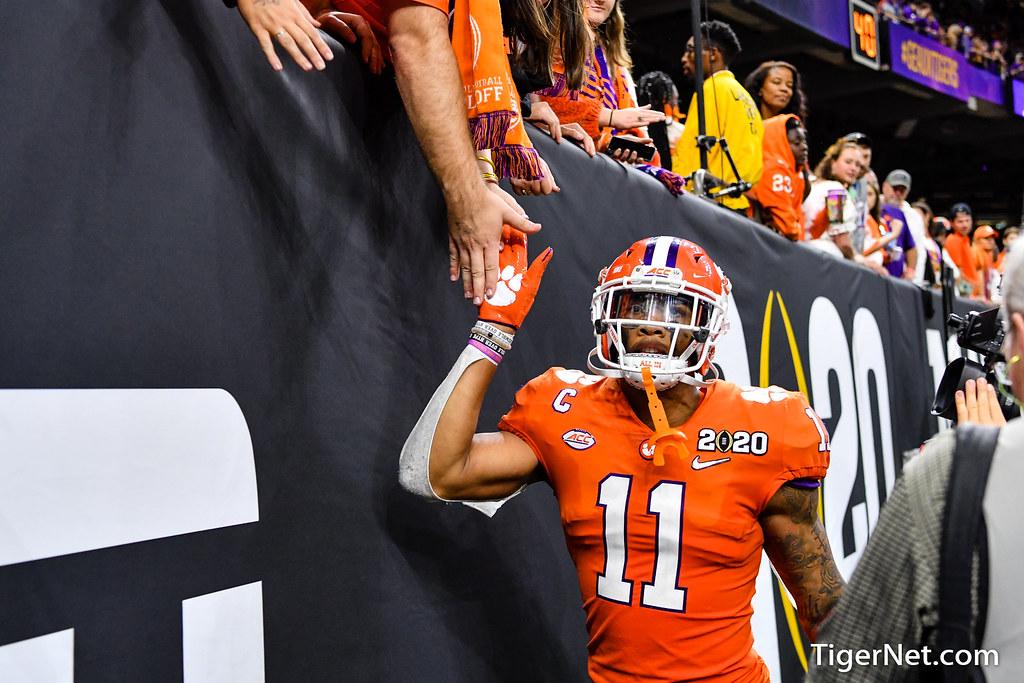 Clemson Photos: Isaiah  Simmons, 2019, Football, lsu