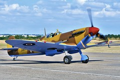 Photo of ABD_8201  Supermarine Spitfire MkVc JG891 249 Sqn RAF based at Ta Qali airfield Malta in 1943 Representing JK879