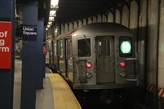 IMG_3999 (GojiMet86) Tags: mta irt nyc new york city subway train 1985 r62 1765 14th street union square