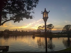 Sunset in Japan #Epcot #Sunset (jneydson) Tags: sunset epcot