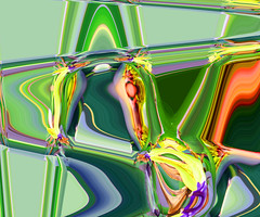 Chlorophyll (ashokboghani) Tags: abstract abstractart modernart photoshop photoshopart digitalart digitalpainting