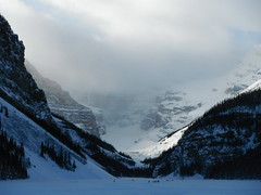 Lake Louise Banff Parkway (Mr. Happy Face - Peace :)) Tags: mountains rockies albertabound nature forest art snowcaps chateau lakelouise