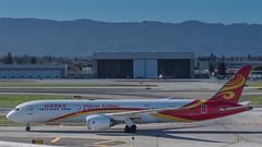 B-1342 (gankp) Tags: sanjoseinternationalairport sanjosesjc arrivals b1342 hainanairlines boeing7879dreamliner