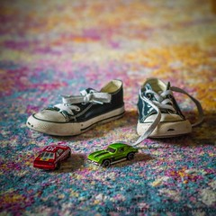 Discarded (Diane Meade-Tibbetts) Tags: 365project winter abstract shoes afternoon january discarded racecars toddlershoes toys project365 365project2020