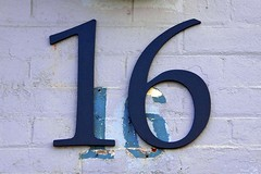 16 Ossington Avenue (designwallah) Tags: canada number ontario ossingtonavenue toronto inexplore flickrexplore typography urbantypography