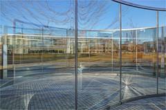 Bisecting Circles And Architectural Styles (ioensis) Tags: bisectingcircles art artist dangraham tischpark washingtonuniversity danforthuniversity saintlouis stlouis mo missouri january 2020 johnlangholz2020 01672177067tmf2001011b©johnlangholz2020 01672177067tmf200101