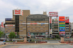 Nagoya (Rick & Bart) Tags: nagoya nagoyastation 名古屋市 白川郷 japan nippon 日本 rickbart city landoftherisingsun rickvink canon eos70d jr train rails travel transport