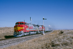 ATSF 511 West at Colmor, NM (thechief500) Tags: atsf bnsf railroads ratonsubdivision santaferailway newmexico