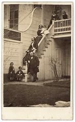 Visiting the Grandkids (Ron Coddington) Tags: cartedevisite civilwar newyorkcity alexandernelson johna rintoul georgegrockwood