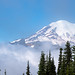 """""""The Mountain Is Out"""" (s.d.sea) Tags: mount rainier mt mountains landscape cascades pano panorama trees hiking national park summer clouds clearing blue sky volcano wa washington nature outdoors pentax k1ii"""