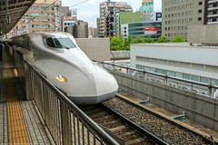 Shinkansen (Rick & Bart) Tags: shinkansen bullettrain nagoya nagoyastation train transport 新幹線 名古屋市 白川郷 japan nippon 日本 rickbart city landoftherisingsun rickvink canon eos70d jr rails travel