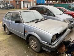 Honda Civic (Sam Tait) Tags: honda civic 3ast auto automatic 13 1300 1982 blue classic retro rare car leicester petrol hondamatic