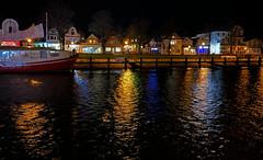 am alten Strom (Renate R) Tags: mecklenburgvorpommern alterstrom night river