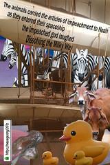 The animals carried the articles of impeachment to Noah (Dr_Neuage) Tags: articlesofimpeachment smithsoniannationalairandspacemuseum washingtondc godlaughed dissolvingthemilkyway thoughtsintravel thoughtsinpatterns neuage vista southaustralia adsit