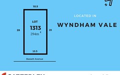 Lot 1313, Bassett Avenue, Wyndham Vale VIC