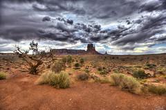 Dramatic scene in Monument Valley - Arizona - USA (R.Smrekar) Tags: usa 2019 arizona landscape nikon hdr z7 smrekar 000100 monument