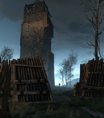 ''The Mighty Tower'' (HodgeDogs) Tags: inexplore explore rivia geralt nvidia pc games gaming larahjohnson cdprojectred cdpr witcher3 photography tower
