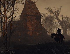 ''Crookback Bog'' (HodgeDogs) Tags: inexplore explore horse trees forest cdprojectred cdpr photography larahjohnson nvidia pc games gaming witcher3