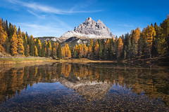 Lake Antorno (Pascal Riemann) Tags: gebirge landschaft dolomiten see südtirol gewässer antornosee italien dreizinnen wald natur herbst autumn dolomites fall lake lakeantorno landscape mountains nature outdoor southtyrol trecimedilavaredo forest waters