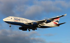 G-CIVL Boeing 747-436 British Airways - One World livery (R.K.C. Photography) Tags: gcivl boeing 747436 b747 british britishairways ba baw speedbird oneworld aviationphotography aviation aircraft airliner londonheathrowairport london england unitedkingdom uk myrtleavenue hattoncross 27l lhr egll canoneos750d