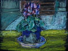 le bouquet 15-1-2020 (messer.christophe) Tags: pastel à lhuile oil still life nature morte
