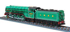 LEGO LNER P2 'Prince of Wales' (Britishbricks) Tags: lego lner p2 princeofwales steam train engine moc wip loco custom britishbricks