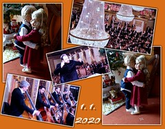 Tanz ins Neue Jahr / Dance into the new year (ursula.valtiner) Tags: puppe doll luis bärbel künstlerpuppe masterpiecedoll neujahrskonzert newyearsconcert vienna wien johannstraus tanzen dancing walzer waltz wienerwalzer viennesewaltz
