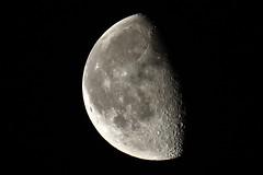 Waning Gibbous, 65% illuminated (Epiphany Appleseed) Tags: gibbous gibbousmoon gibbousmoonlondon waning waninggibbousmoon waninggibbous uk england london astro astronomy astrophotography astrophysics space solarsystem moon lunar january 2020