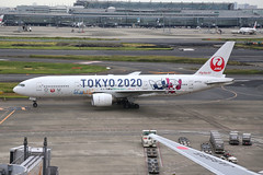 JA773J Haneda 18/10/19 (Andy Vass Aviation) Tags: haneda jal b777 ja773j