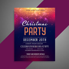 merry christmas sparkles party poster flyer design template (HireHtmlCoder) Tags: christmas merry happy xmas holiday vector background winter december season card greeting celebration new year festive festival poster design event invitation graphic creative abstract template party music dance flyer brochure banner club dj show sparkle particle glow shiny layout