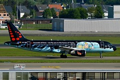"""""""Rackham"""" Brussels Airlines OO-SNB Airbus A320-214 cn/1493 Painted in """"Belgian Icons - Tintin"""" special colours 03-2015 @ EBBR / BRU 05-05-2018 (Nabil Molinari Photography) Tags: rackham brussels airlines oosnb airbus a320214 cn1493 painted belgianiconstintin special colours 032015 ebbr bru 05052018"""