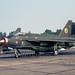 Lightning F.2A XN776 C 19 Sqn 30-08-74 (phantomfgr2) Tags: