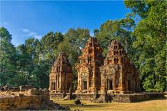Preah Ko, Angkor Temple, Cambodia (Janos Kertesz) Tags: angkor preah ko cambodia ancient temple khmer architecture stone religion asia monument buddhism old wat heritage
