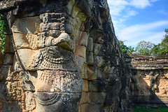 Angkor Thom (Terrace of the Leper King) (SAK Travels) Tags: angkorthom ankgor architecture asia cambodia iconic terraceoftheleperking siemreapdistrict siemreapprovince