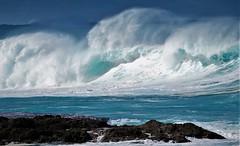 Storm surf (thomasgorman1) Tags: canon surf beach waves wave storm nature seascape rocks waimea rough island pacific oahu hawaii crashing shore coast