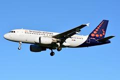 OO-SSA Airbus A319-111 Brussels Airlines (BRU/EBBR) (geoffrey.zdcki) Tags: spotting spotter landing aviation avion nikon bru brussels belgium brusselsairport bruxelles belgique ebbr oossa brusselsairlines airbus a319 a319111 sn bel