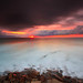Me and the silence (rgr1511) Tags: sunset longexposure seascape sun light water barrika nature