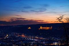Würzburg (mattrkeyworth) Tags: würzburg batis85 festungmarienberg sonya7riv sunset batis1885 85mm