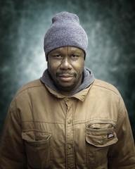 Maurice (mckenziemedia) Tags: man portrait portraiture face hat coat stockingcap people humanity homeless homelessness chicago city urban street streetphotography