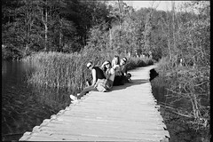 ** (Koprek) Tags: 6x9 film analog ilford delta 400 fuji fujigw690ii plitvice lakes october visitors 2019
