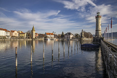 Lindau (crazyhorse_mk) Tags: lindau bodensee lakeconstance harbour water lake city town tower lighthouse
