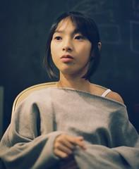 Portrait (Yuki Ishikawa Photography) Tags: フィルムカメラ 필름카메라 필름 필름사진 胶卷相机 膠卷相機 バケペン 中判カメラ 西村カメラプリント アナログ写真 フィルム写真 ポートレイト 人像攝影 filmphotography pentax67 filmcamera 6x7 mediumformat portrait filmwave tokyo filmjp filmcom analogphotography 娘 daughter bokeh fujifilm thefilmpublic filmphotomag