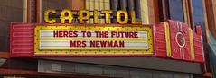 IA, Burlington-Capitol Theater Marquee & Neon Sign