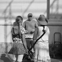 The musician (lebre.jaime) Tags: austria upperaustria salzburg street streetphotography people streetperformer analog mediumformat mf squareformat 6x6 film120 ilford fp4 iso125 hasselblad 500cm carlzeiss planar cf2880 affinity affinityphoto bw blackwhite noiretblanc nb pb pretobranco epson v600