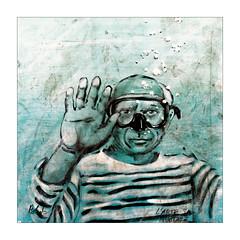 Les bulles de  Blub (Jean-Louis DUMAS) Tags: art artistic artistique artist street rue visage portrait portraiture colors couleurs sony streetart artdelarue peinture dessin