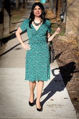 Serving Glamour Wrap Dress 1 (Hannah McKnight) Tags: