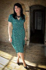 Serving Glamour Wrap Dress 3 (Hannah McKnight) Tags: