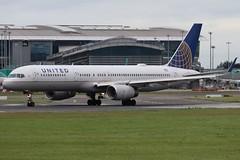 United N41135 DUB 22/08/19 (ethana23) Tags: planes planespotting aviation avgeek aircraft aeroplane airplane boeing 757 757200 united