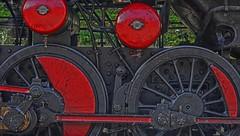 Vintage Steam Train Bohinj Railway Slovenia DSC_6990 (JKIESECKER) Tags: travel trains slovenia tolmingorge tolmin red transportation