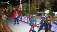 Customized ice rink in Spain (XTRAICE) Tags: tracks rink christmasicerink christmasdecoration syntheticicerink skatingrink cus customizedrink pack